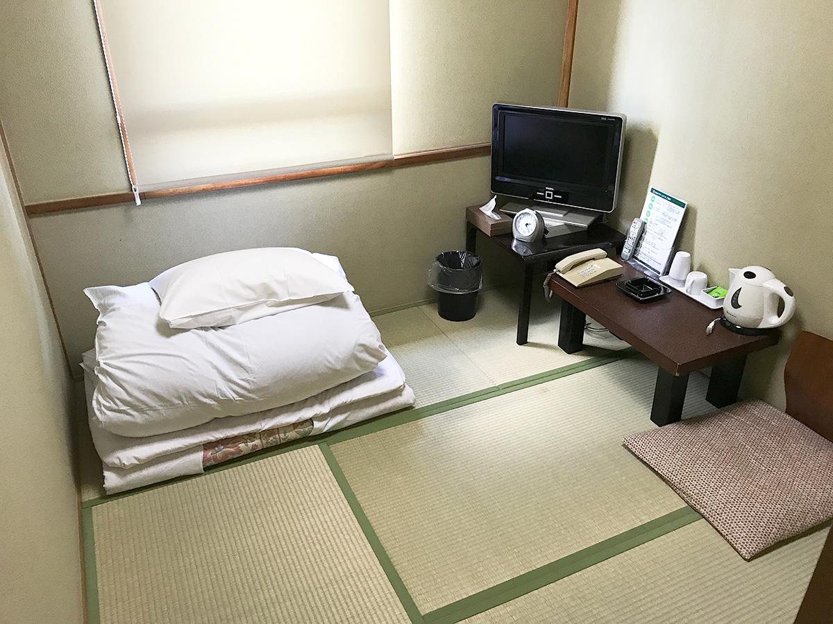 シングルルーム(和室)